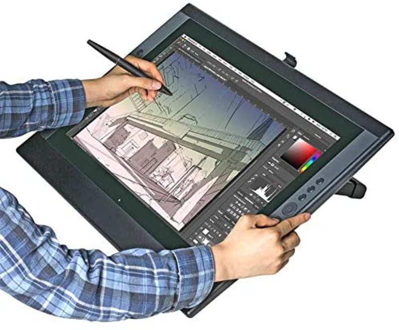 Artisul D22 21.5-Inch Digital Graphic Drawing Tablet Plus Built-in Stand, Black