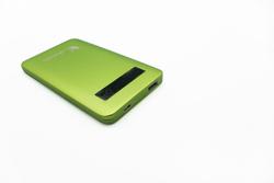Lafeada 4500mAh Safari-4500 Powerbank Universal Power Pack, Green