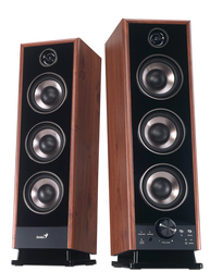 Genius Speaker Sp-Hf2020 Uk 100-240V, Brown