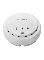 Edimax N300 High Power Ceiling Mount Wireless PoE Range Extender (UK PSU) EDEW-7428HCN-UK, White