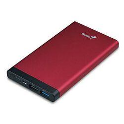 Genius 10000mAh Eco-U1027 Powerbank Universal Portable Battery, Red