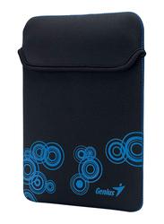 Genius Tablet PC/iPad Mini/iPad 10-inch Polyester Waterproof Sleeve Bag, GS-1001, Black/Blue