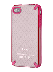 Lafeada Apple iPhone 4/4S Belle Plus Mobile Phone Case Cover, Pink/Crystal