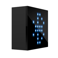 Divoom Aurabox Bluetooth 4.0 Smart LED Speaker with APP Control for Pixel Art Creation, Black
