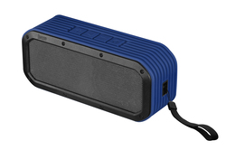 Divoom Lifestyle Speaker Voombox Outdoor Bluetooth, Built-In Mic., Rms 15W, Water-Resistant, Blue
