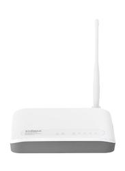 Edimax N150 3-in-1 Wireless Broadband Router EDBR-6228NSV2-UK, White