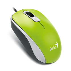 Genius DX110 Optical Mouse, Green