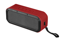 Divoom Lifestyle Speaker Voombox Outdoor Bluetooth, Built-In Mic., Rms 15W, Water-Resistant, Red