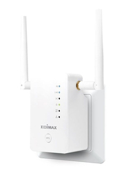 Edimax AC1200 Smart Dual Band Wi-Fi Extender (UK PSU) EDRE11-UK, White