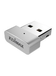 Edimax 11AC Wireless 5GHz Upgrade USB Adapter for MacBook OS 10.7/10.11, EW-7711MAC, Silver