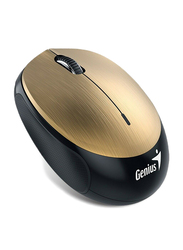 Genius NX-9000BT Wireless Optical Rechargeable Mouse, Gold