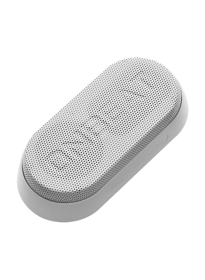 Divoom Onbeat-X1 The Ultimate Portable Bluetooth Gaming Speaker, White