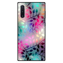 Moreau Laurent Samsung Note 10 Mobile Phone Back Cover, Rainbow Colors Floral Pattern