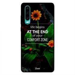 Moreau Laurent Huawei P30 Mobile Phone Back Cover, Shoping is My Cardio