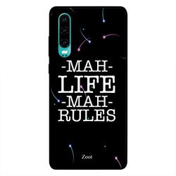 Moreau Laurent Huawei P30 Mobile Phone Back Cover, ThinkinG Here Goes Nothing