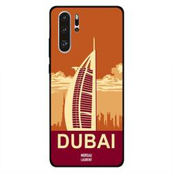 Moreau Laurent Huawei P30 Pro Mobile Phone Back Cover, Dubai Illustration
