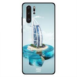 Moreau Laurent Huawei P30 Pro Mobile Phone Back Cover, Burj Al Arab View from Sky