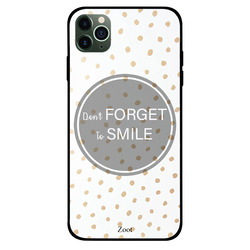 Zoot Apple iPhone 11 Pro Max Mobile Phone Back Cover, Don't Forget To Smile