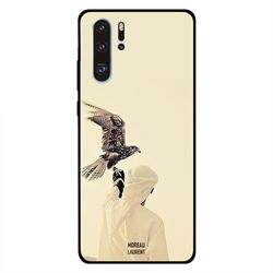 Moreau Laurent Huawei P30 Pro Mobile Phone Back Cover, Eagle Ready to Fly