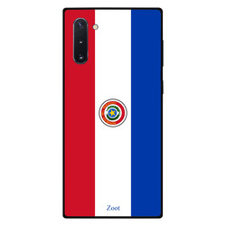 Zoot Samsung Note 10 Mobile Phone Back Cover, Paraguay Flag