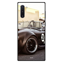 Zoot Samsung Note 10 Mobile Phone Back Cover, Black Racer