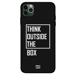 Moreau Laurent Apple iPhone 11 Pro Mobile Phone Back Cover, Think Outside The Box