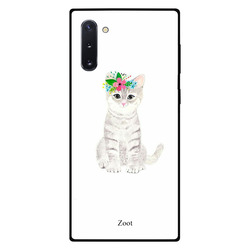 Zoot Samsung Note 10 Mobile Phone Back Cover, Cat Focused