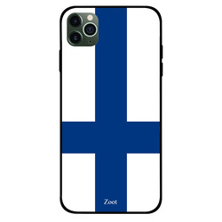 Zoot Apple iPhone 11 Pro Mobile Phone Back Cover, Finland Flag