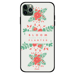 Zoot Apple iPhone 11 Pro Max Mobile Phone Back Cover, Bloom Where You Are Planted