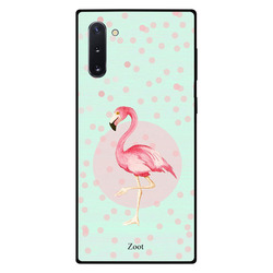 Zoot Samsung Note 10 Mobile Phone Back Cover, Flamingo