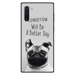 Zoot Samsung Note 10 Mobile Phone Back Cover, Tomorrow Will Be A Better Day