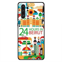 Moreau Laurent Huawei P30 Pro Mobile Phone Back Cover, 24 Hours in Beirut