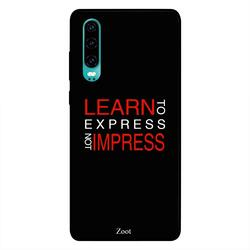 Moreau Laurent Huawei P30 Mobile Phone Back Cover, Out of Sight