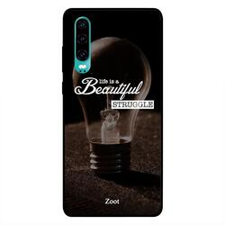 Moreau Laurent Huawei P30 Mobile Phone Back Cover, Sorry Out To Live Be Back Soon