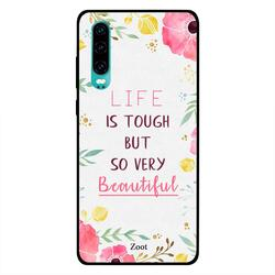 Moreau Laurent Huawei P30 Mobile Phone Back Cover, Storms Don't Last Forever