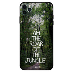 Zoot Apple iPhone 11 Pro Max Mobile Phone Back Cover, I Am The Roar Of The Jungle
