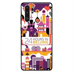 Moreau Laurent Huawei P30 Pro Mobile Phone Back Cover, 24 Hours in Beijing