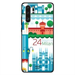 Moreau Laurent Huawei P30 Pro Mobile Phone Back Cover, 24 Hours in Milan