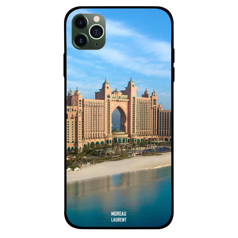 Moreau Laurent Apple iPhone 11 Pro Max Mobile Phone Back Cover, Atlantis Day Time