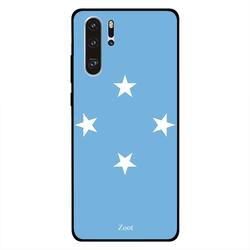 Zoot Huawei P30 Pro Mobile Phone Back Cover, Micronesia Flag