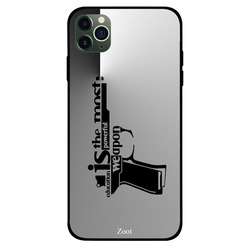Zoot Apple iPhone 11 Pro Max Mobile Phone Back Cover, Education Is The Most Powerful Weapon
