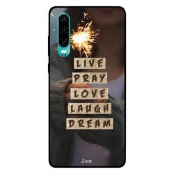 Moreau Laurent Huawei P30 Mobile Phone Back Cover, The Wild Life