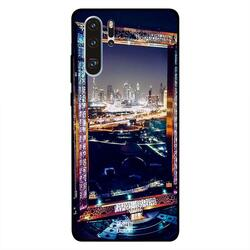 Moreau Laurent Huawei P30 Pro Mobile Phone Back Cover, Dubai Frame At Night