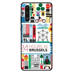 Moreau Laurent Huawei P30 Pro Mobile Phone Back Cover, 24 Hours in Brussels