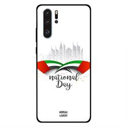 Moreau Laurent Huawei P30 Pro Mobile Phone Back Cover, National Day UAE