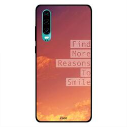 Moreau Laurent Huawei P30 Mobile Phone Back Cover, It Is OK To Say No To Unnecessary Crazy