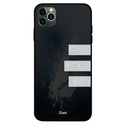 Zoot Apple iPhone 11 Pro Max Mobile Phone Back Cover, Find Your Way