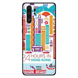 Moreau Laurent Huawei P30 Pro Mobile Phone Back Cover, 24 Hours in Hong Kong