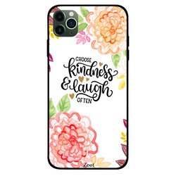 Zoot Apple iPhone 11 Pro Max Mobile Phone Back Cover, Choose Kindness & Laugh Often