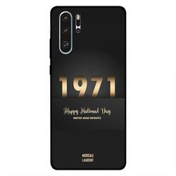 Moreau Laurent Huawei P30 Pro Mobile Phone Back Cover, Happy National Day UAE 1971